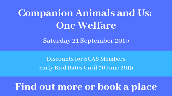SCAS 2019 Conference booking link
