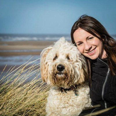 Helen and her dog